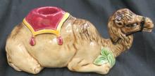 Eichwald Czechoslovakia Camel Candleholder #2729 Multi Tans, 7