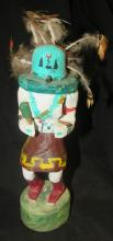 Vintage Navajo Kachina Doll-Hand Carved and Painted by Aida Tsinaji, 9