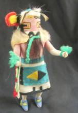 Vintage Navajo Kachina Doll-Hand Carved and Painted by Aida Tsinaji, 6
