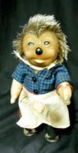 Vintage Steiff Micki Doll Hedgehog w/ Original Chest Tag, 7