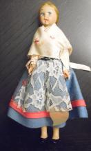 Vintage Lenci Doll Torino Italy, 9 1/2