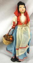 Vintage Lenci Doll Markeed Sicily, 11