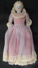 Antique Primitive Doll Porcelain Head Hands & Feet 1800's, 8