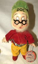 Antique Knickerbocker Happy Dwarf Doll Snow White 7 Dwarfs Composition 1930s, Doc, 9