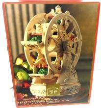 Lenox For the Holidays Ferris Wheel Centerpiece #6095186 w/ Original Box Works,EC