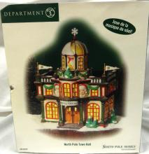 Dept 56 - North Pole - North Pole Town Hall, MIB