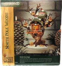 Dept 56 North Pole Woods Reindeer Care and Repair, MIB