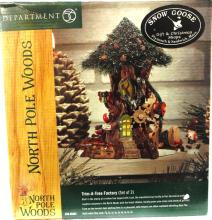 Dept 56 North Pole Woods Trim-A-Tree Factory, MIB