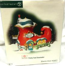 Dept 56 North Pole Pointy Toed Shemaker, MIB