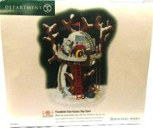 Dept 56 North Pole Frostbite Tree House Day Care, MIB