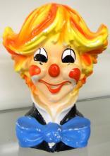 Vintage Clown Head Planter - Inarco Japan - Mid Century, 7 1/2