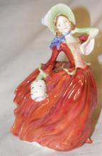 Royal Doulton Figurine HN 1911 Autumn Breezes, 7 1/2