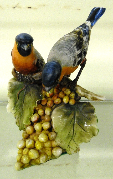 Borsato Porcelain Birds a Borsato Italy Porcelain Bird