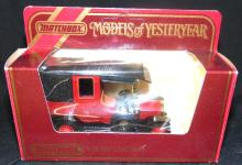 Matchbox Models Of Yesteryear Unic Taxi in Box, 4