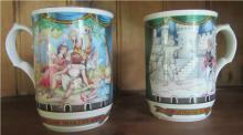 Two Sadler Collector Mugs, 4 1/4