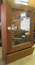 Primitive Mirrored Shaving Cabinet, EC