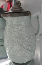 Antique Salt Glaze Syrup Pitcher, 5