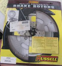 Two Russell Motorcycle Disc Rotors MIB
