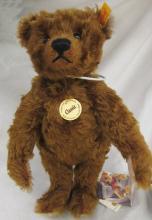 Steiff Teddy Bear Classic 1905 Mohair Chestnut 004803, 12