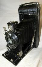 Vintage Eastman Kodak 2c Autographic Special Model A Folding Camera with Original Case, EC