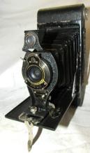 Vintage Eastman Kodak 2c Autographic Special Model A Folding Camera, EC