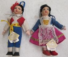 Two Sorrento Vintage Dolls with Original Labels, 5