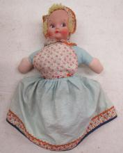 Vintage Topsy Turvy Doll Happy Sad Doll Flip Flop Doll , 12