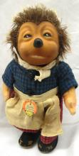 Steiff Micki Hedgehog Doll Toy With Apron with Tag 7
