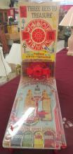 Vintage Marx Three Keys To Treasure Bagatelle Game in Original Box, EC