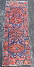 Seikur long rug. Caucasus, antique, circa 1900.