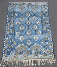 Rabat carpet Morocco, old, circa 1940.