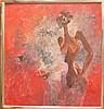Byron Gálvez (MEXICAN, 1941) oil on canvas,