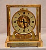 Atmos clock, Le Coultre, brass & glass, 9