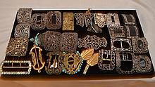 Assorted antique/vintage buckles