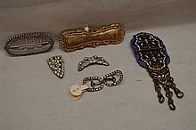 Smaller lot antique/vintage buckles