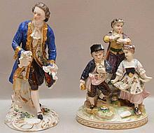 German figural group of three (7