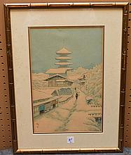 2 Japanese woodblock Prints, 14