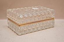 Glass hinged box