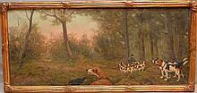Albert Toefaert  (Flemish 1856 - 1909) oil on canvas,