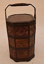 Asian woven wedding basket