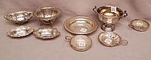 Assorted pieces of sterling, hollowware, 24ozt