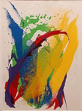Paul Jenkins (American 1923 - 2012) Original Color Lithograph- artist proof, Abstract, signed in pencil dated 1973, 28
