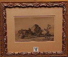 Rembrandt Van Rijn (Dutch 1606-1669)