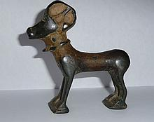 Bronze Gazel, 600-700 A.D. Antiquity found in Jerusalem, approx. 3