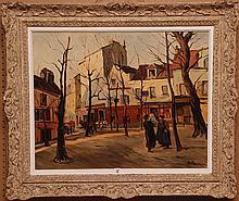 Robert Bils (20th century) oil on canvas,