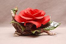 Boehm porcelain 40th anniversary rose for Helen Boehm, F 274, 5