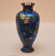 Japanese cloisonné vase, 9