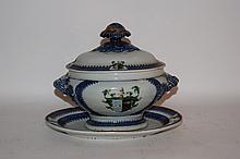 3 piece Armorial chinaware