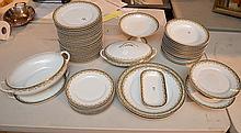 Approximately 50 Pieces Limoges Porcelain.