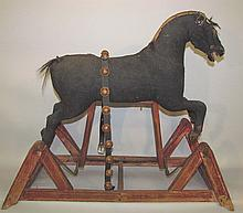 Straw stuffed hobby horse